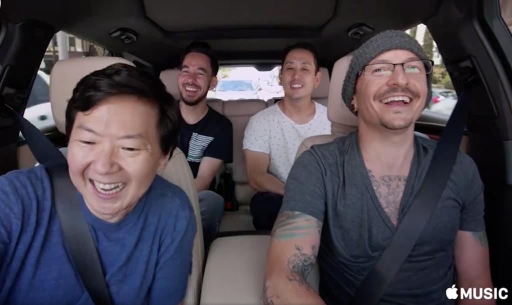 Chester Bennington, Linkin Park, Carpool Karaoke