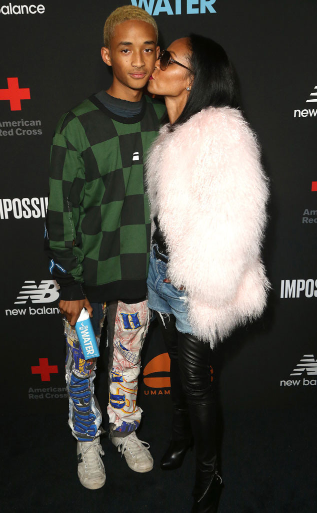 Jaden Smith, Jada Pinkett Smith