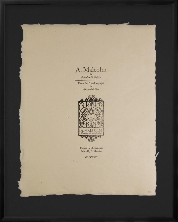 Outlander print