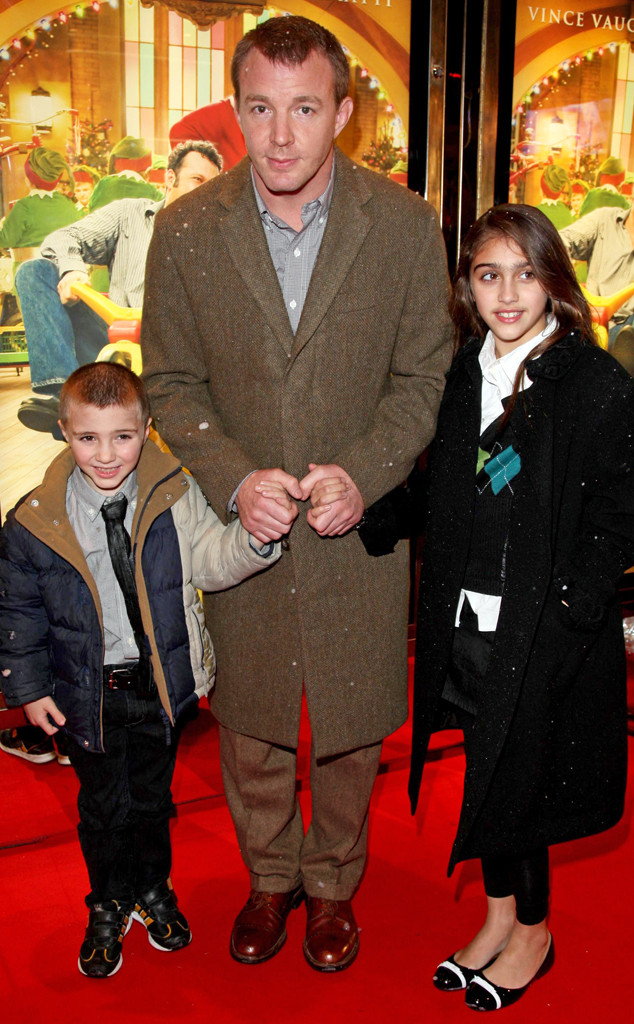 Guy Ritchie, Rocco Ritchie, Lourdes Leon