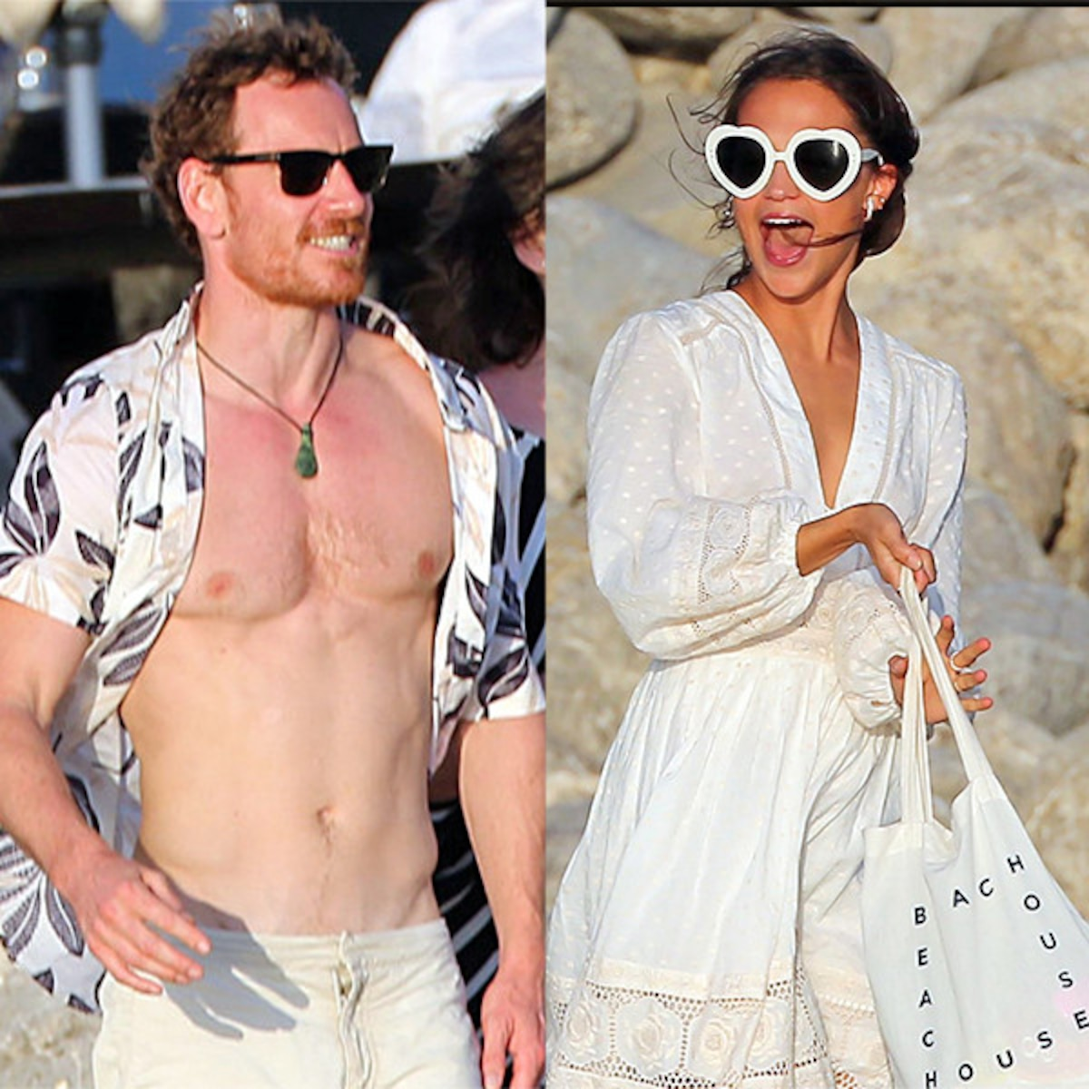 Alicia Vikander And Michael Fassbender Honeymoon In Italy E Online