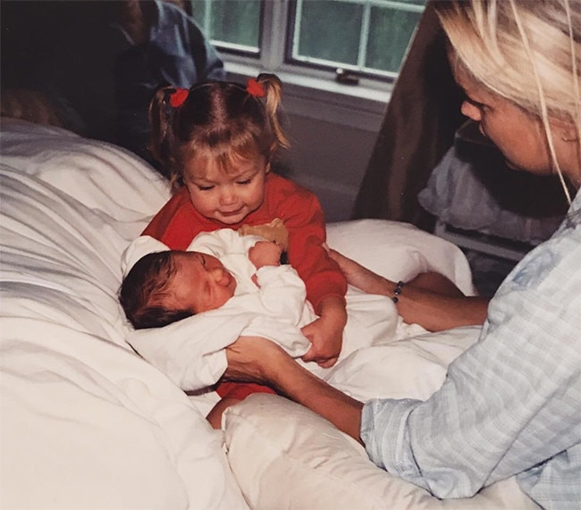 Gigi Hadid, Bella Hadid, Childhood Photo