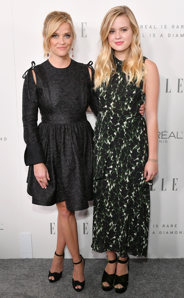 Reese Witherspoon, Ava Phillippe, ELLEs 24th Annual Women in Hollywood
