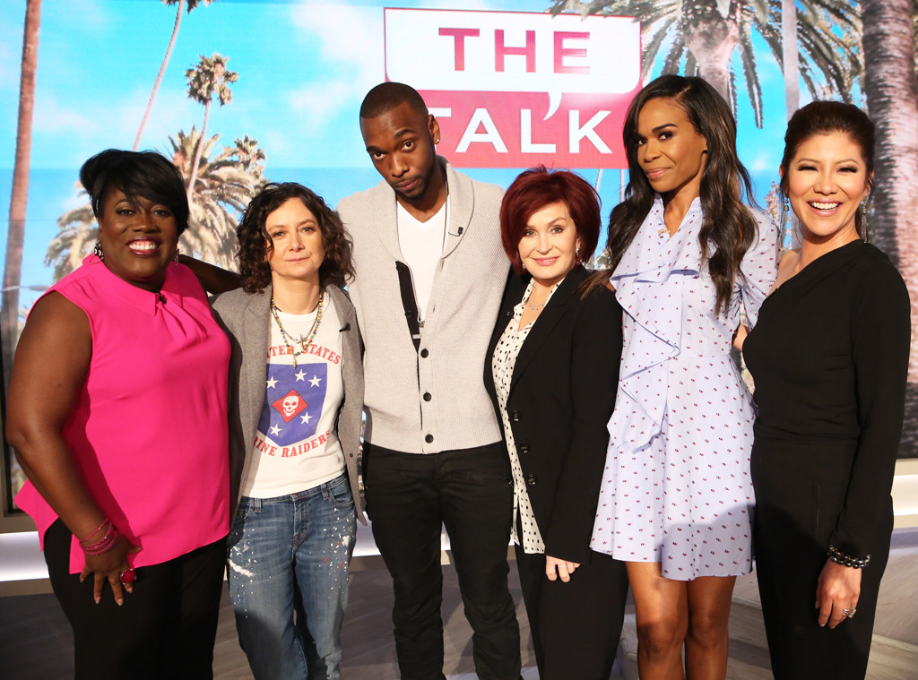 The Talk, Michelle Williams, Sheryl Underwood, Sara Gilbert, Jay Pharoah, Sharon Osbourne, Julie Chen