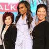 The Talk, Michelle Williams, Sheryl Underwood, Sara Gilbert, Jay Pharoah, Sharon Osbourne, Julie Chen