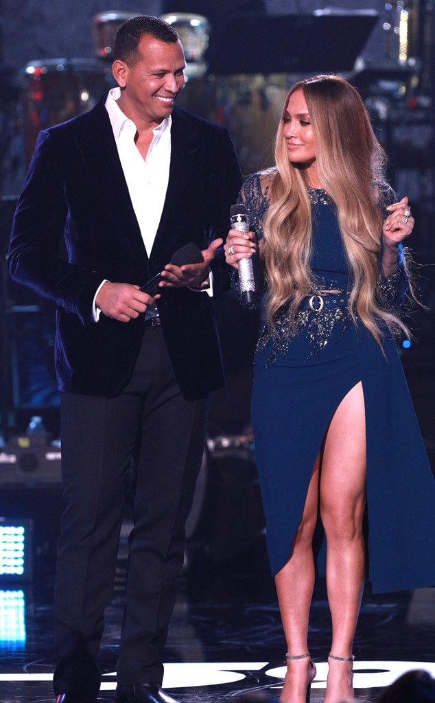 One Voice: Somos Live!, Jennifer Lopez, Alex Rodriguez