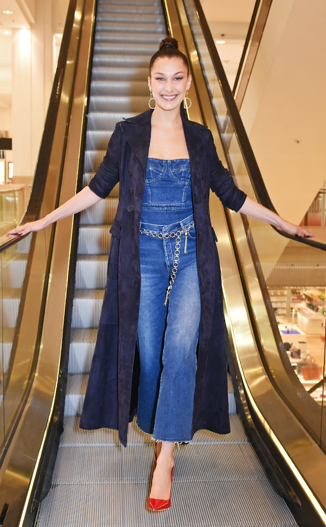 ESC: Bella Hadid, Denim