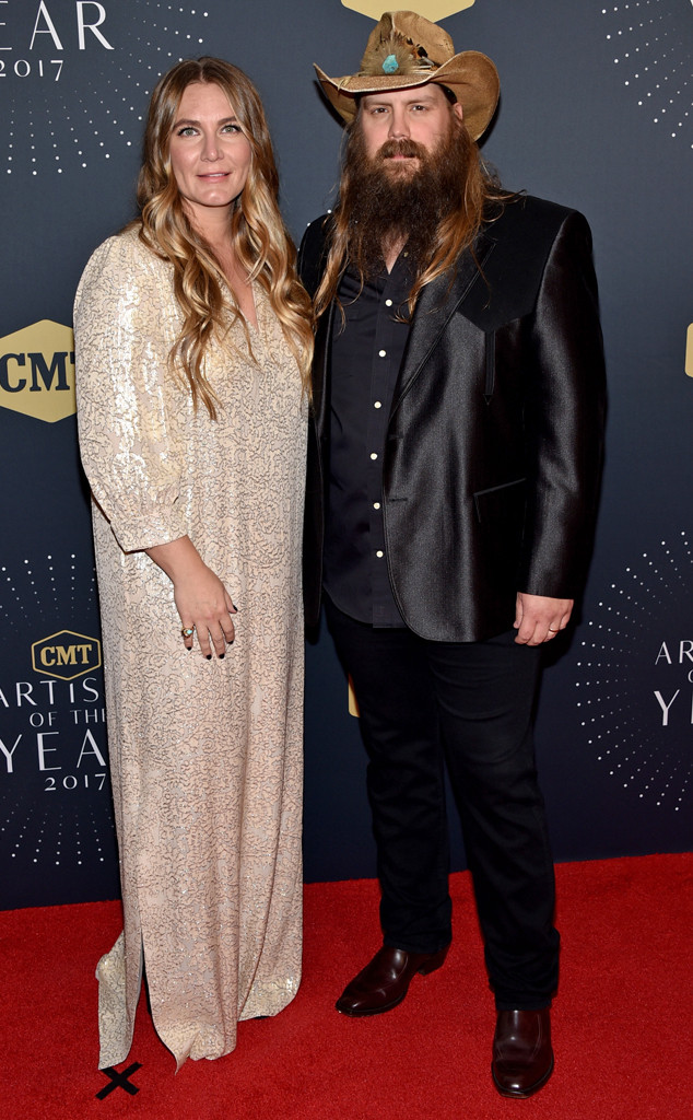 Morgane Stapleton, Chris Stapleton, 2017 CMT Artists Of The Year