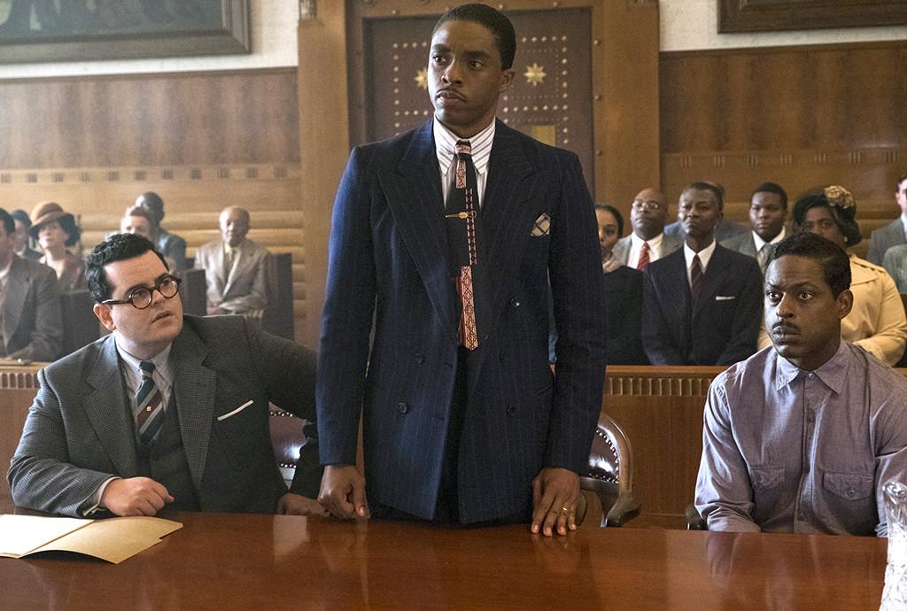 Marshall, Josh Gad, Chadwick Boseman, Sterling K. Brown