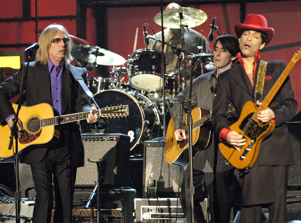 Tom Petty, Prince, 2004 Rock and Roll Hall of Fame Induction Ceremony