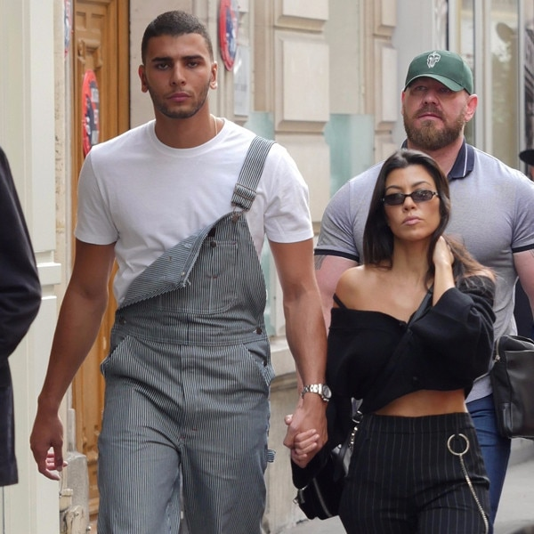 Younes Bendjima and Kourtney Kardashian's Sizzlin Paris Vacation