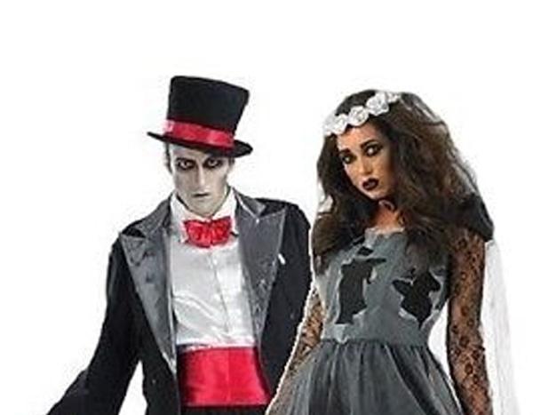 Bride And Groom Halloween Costume.Corpse Bride Groom From 31 Genius Couples Halloween