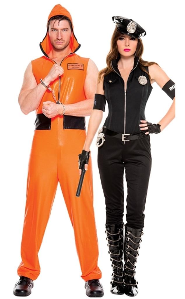 Couples Halloween Costume Ideas.Cop Convict From 31 Genius Couples Halloween Costume Ideas E News