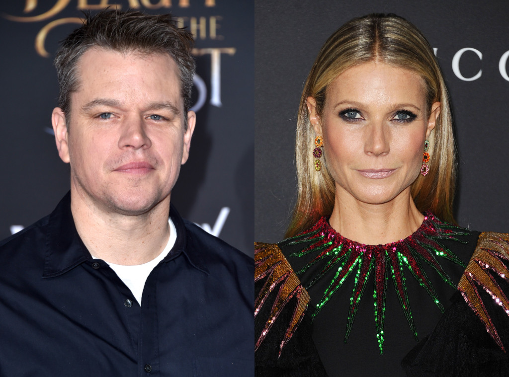 Matt Damon, Gwyneth Paltrow