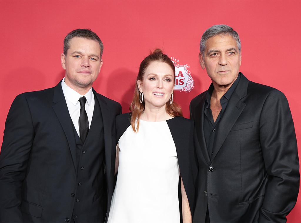 Matt Damon, Julianne Moore, George Clooney