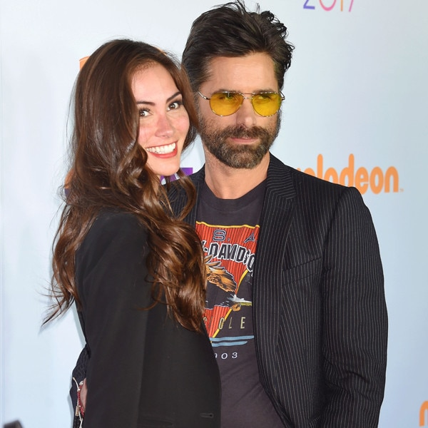 John Stamos welcomes son