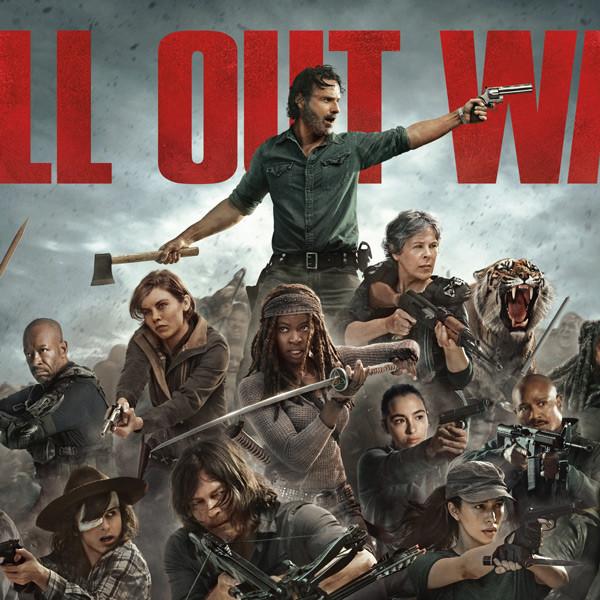 The Walking Dead Season 8 Key Art