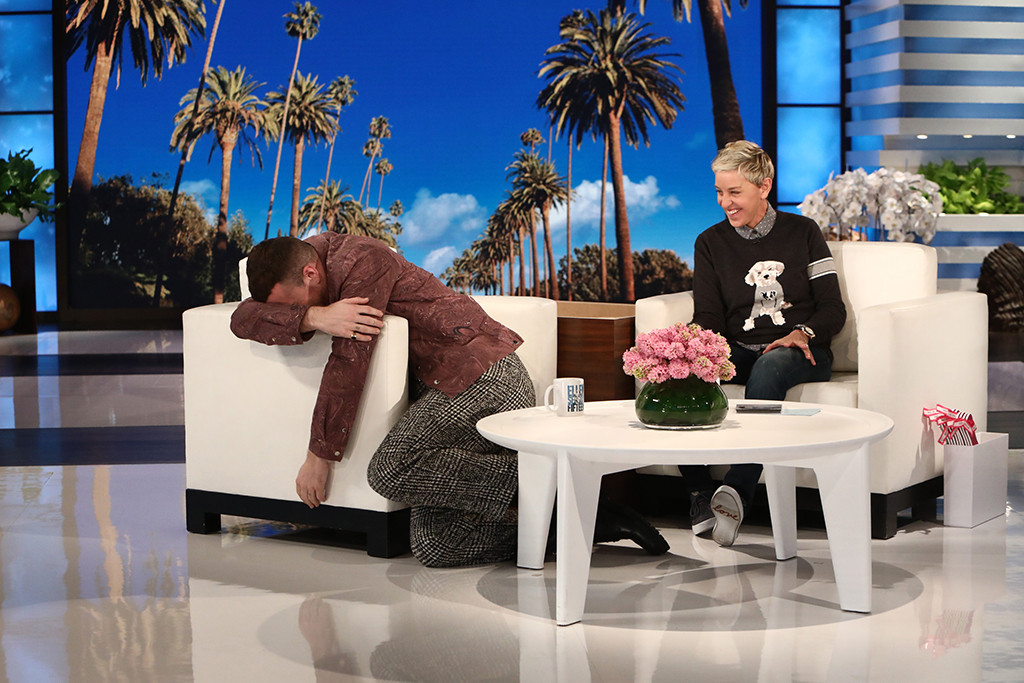 Sam Smith, The Ellen DeGeneres Show