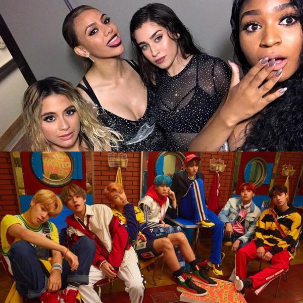 Fifth Harmony, BTS