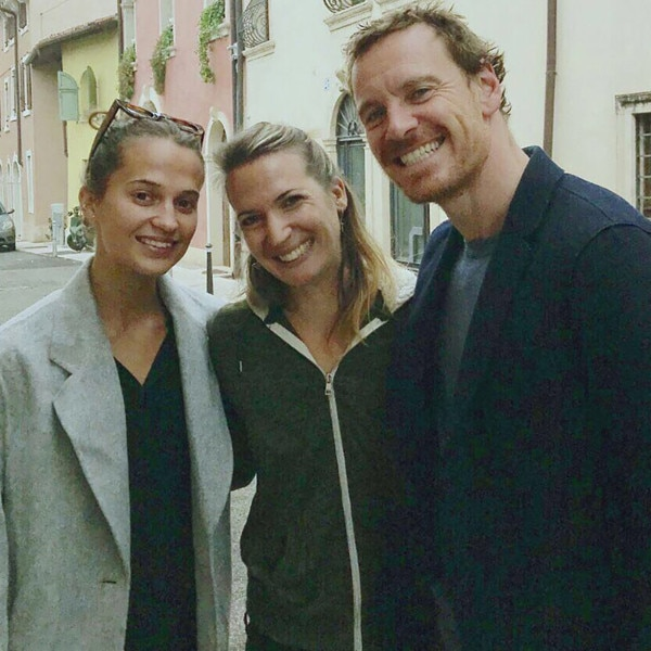 Alicia Vikander Detail: All The Details On Michael Fassbender And Alicia Vikander