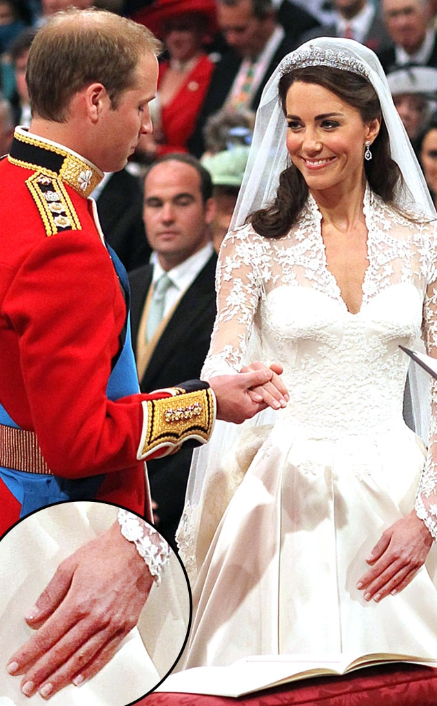 Kate Middleton, Wedding, Manicure