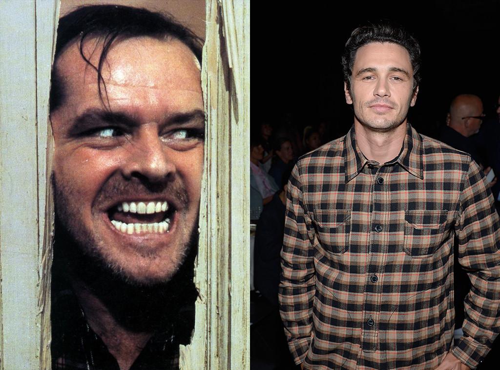 Jack Nicholson Shining james franco goes full jack nicholson from the shining to scare