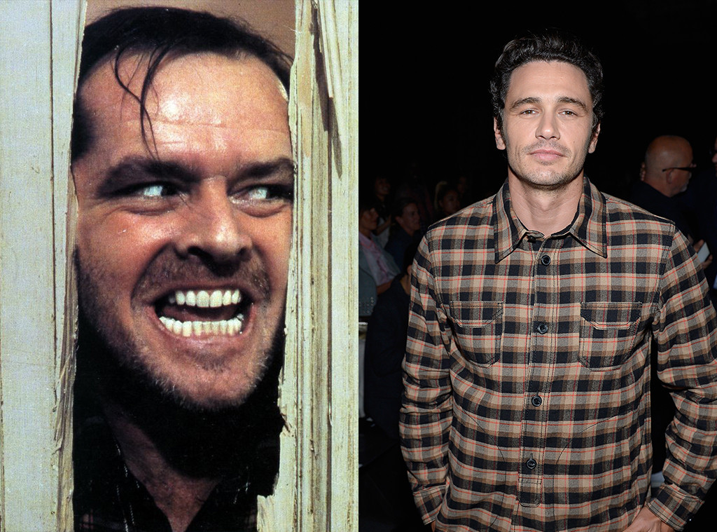 Jack Nicholson, The Shining, James Franco