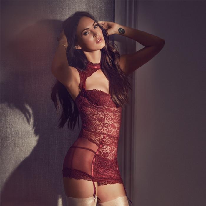 Megan Fox Models Lingerie In Steamy Fredericks Of Hollywood