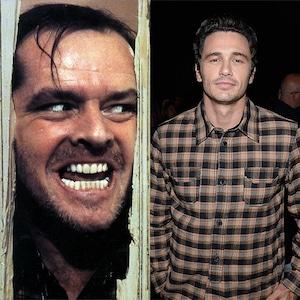 Jack Nicholson, The Shining, James Franco