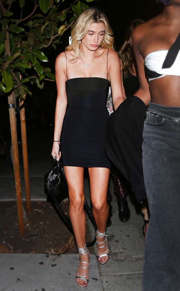 Hailey Baldwin Can T Stop Wearing These 54 Dresses E News