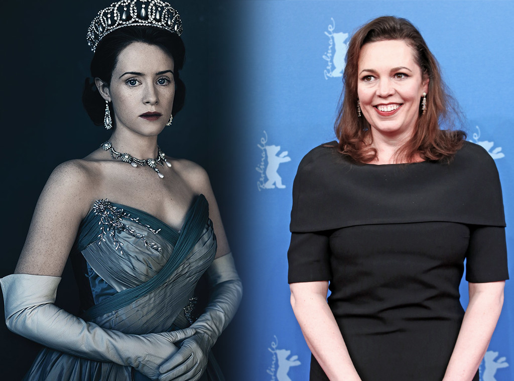 The Crown, Claire Foy, Olivia Colman
