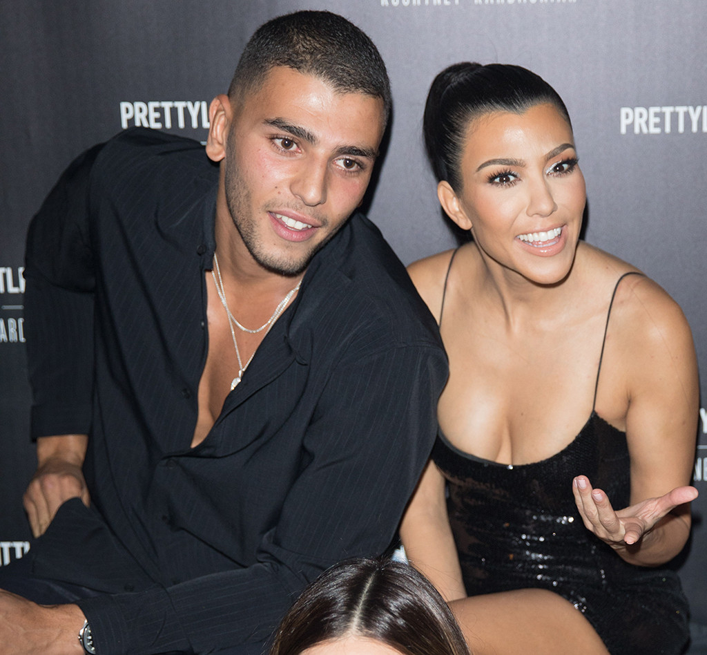 1ccf29c9 Kourtney Kardashian and Younes Bendjima's Romance Getting