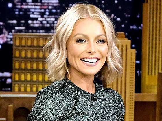 Kelly Ripa Sets the Record Straight to Someone Who Said She Had a Nose Job