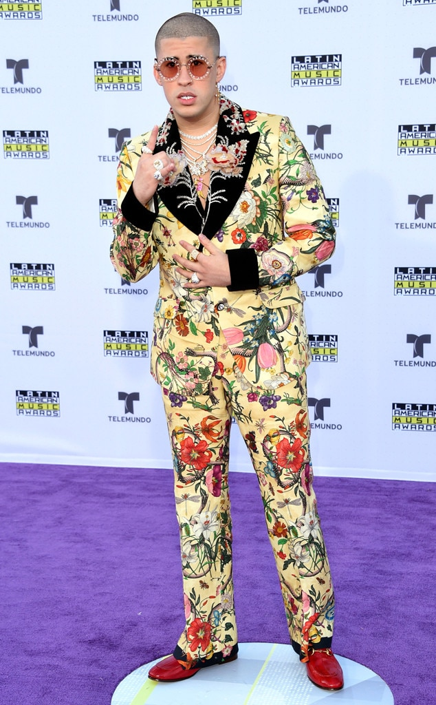 Bad Bunny from Latin American Music Awards 2017: Red Carpet