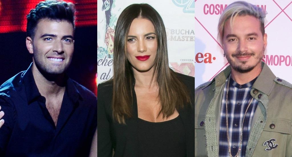 Jeancarlos Canela, Gaby Espino, J Balvin