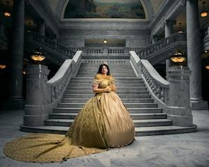 Princesas da Disney como rainhas