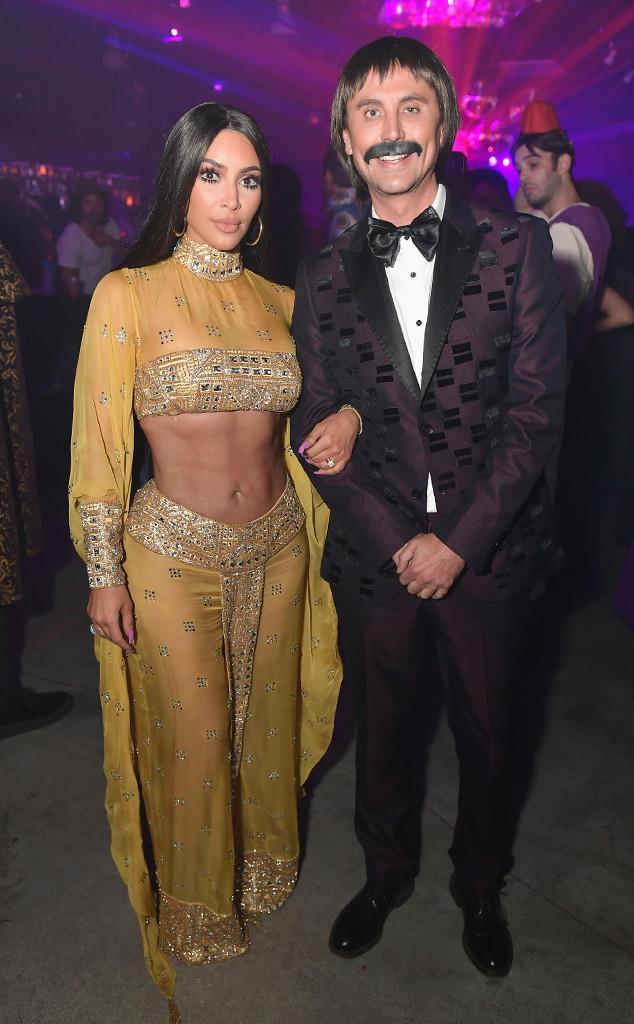Kim Kardashian, Jonathan Cheban, Halloween