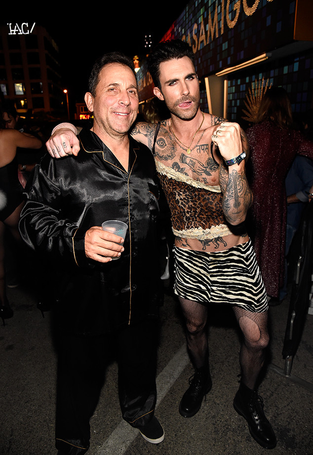 Adam Levine, Mike Meldman, Halloween 2017