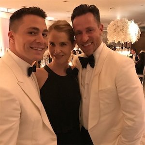 Colton Haynes, Jeff Leatham, Wedding, Leslie Grossman, Instagram