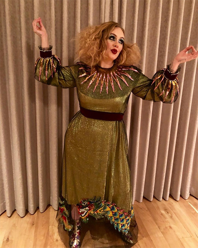 Adele, Halloween, 2017, Costume