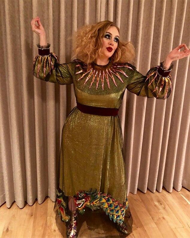 Adele Halloween 2017 Costume  sc 1 st  E! News & Adele Resurfaces With Halloween Costume Thatu0027s Got Fans Shook | E! News
