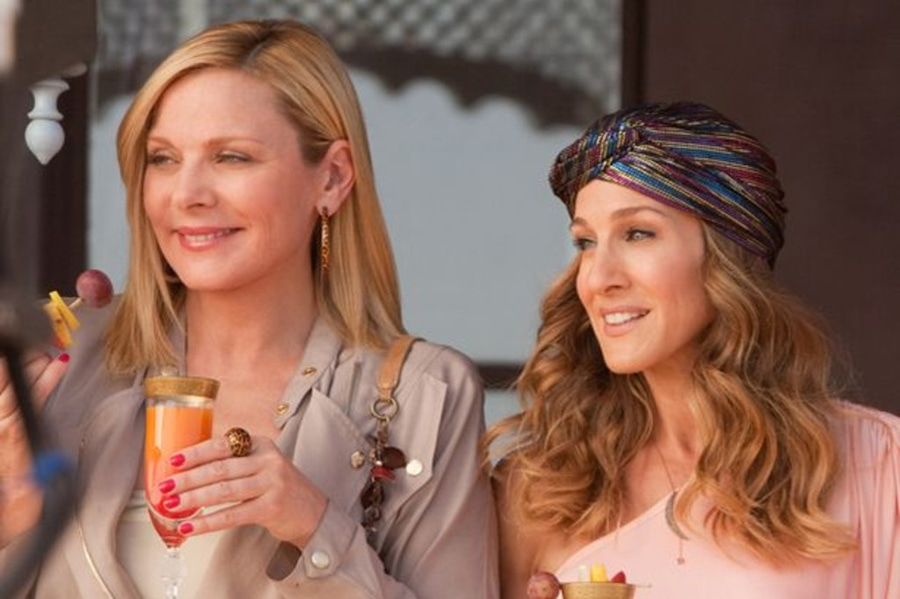 Sarah Jessica Parker, Kim Cattrall, Sex and the City