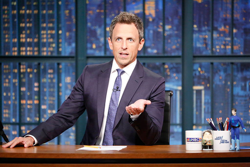 Seth Meyers, Late Night
