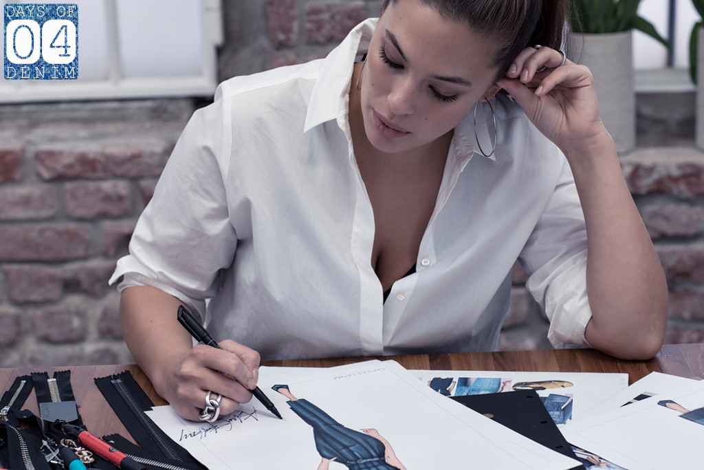 Why ashley graham can 39 t let go of these old jeans e news - Mobeldesigner italien ...