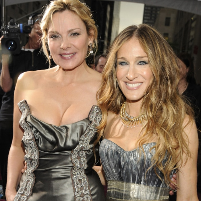 Sarah Jessica Parker Cant Imagine A Sex And The City Sequel Without Kim Cattrall E News