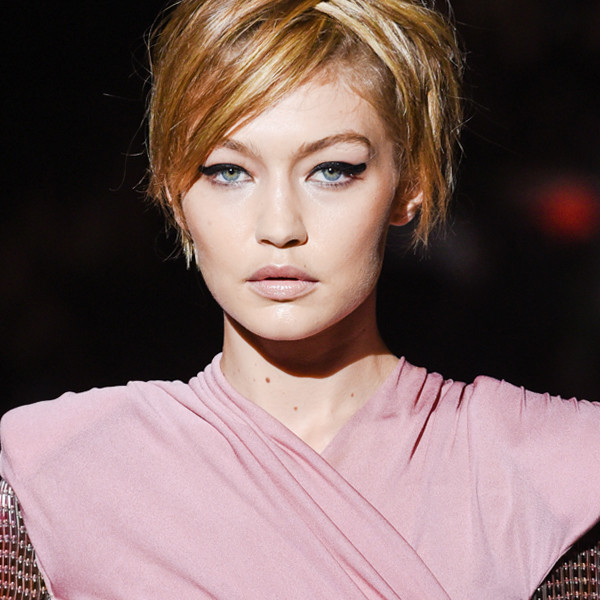 ESC: Best Beauty NYFW, Tom Ford, Gigi Hadid, Thumbprint Eyeliner