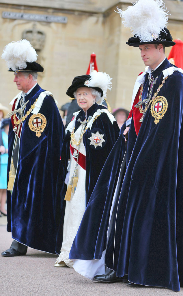 Prince Charles, Queen Elizabeth II, Prince William