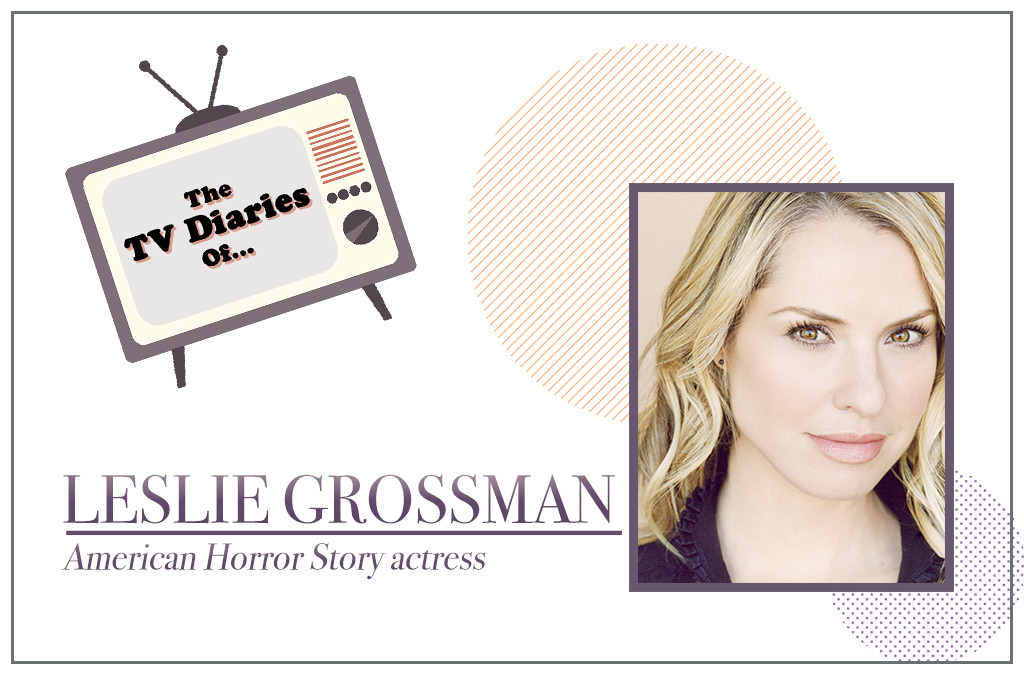 What They Watch: The TV Diaries of American Horror Story Star Leslie ...