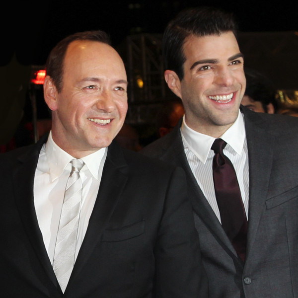 Kevin Spacey, Zachary Quinto