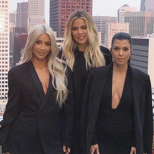 Kim Kardashian, Kourtney Kardashian, Khloe Kardashian